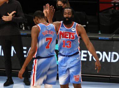 Hardenas ir Durantas surengė šou