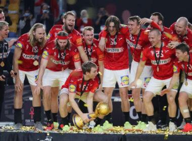 Danijos rinktinė pasaulio rankinio čempionai