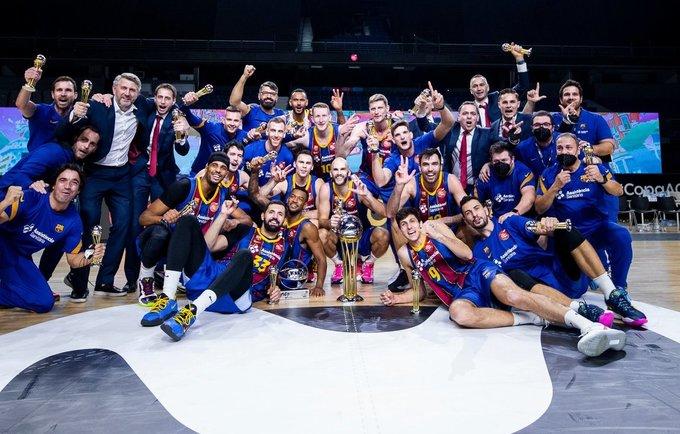 """Barcelona"" laimėjo Ispanijos karaliaus taurę"