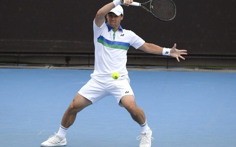 """R.Berankis baigė pasirodymą """"BMW Open"""" turnyre"""